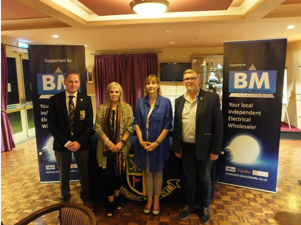 BM Electrical Wholesale sponsor Charity Golf Day at Rathmore Golf Club