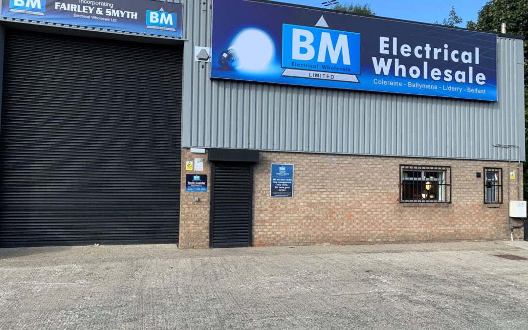 BM Electrical Wholesale Open New Belfast Store